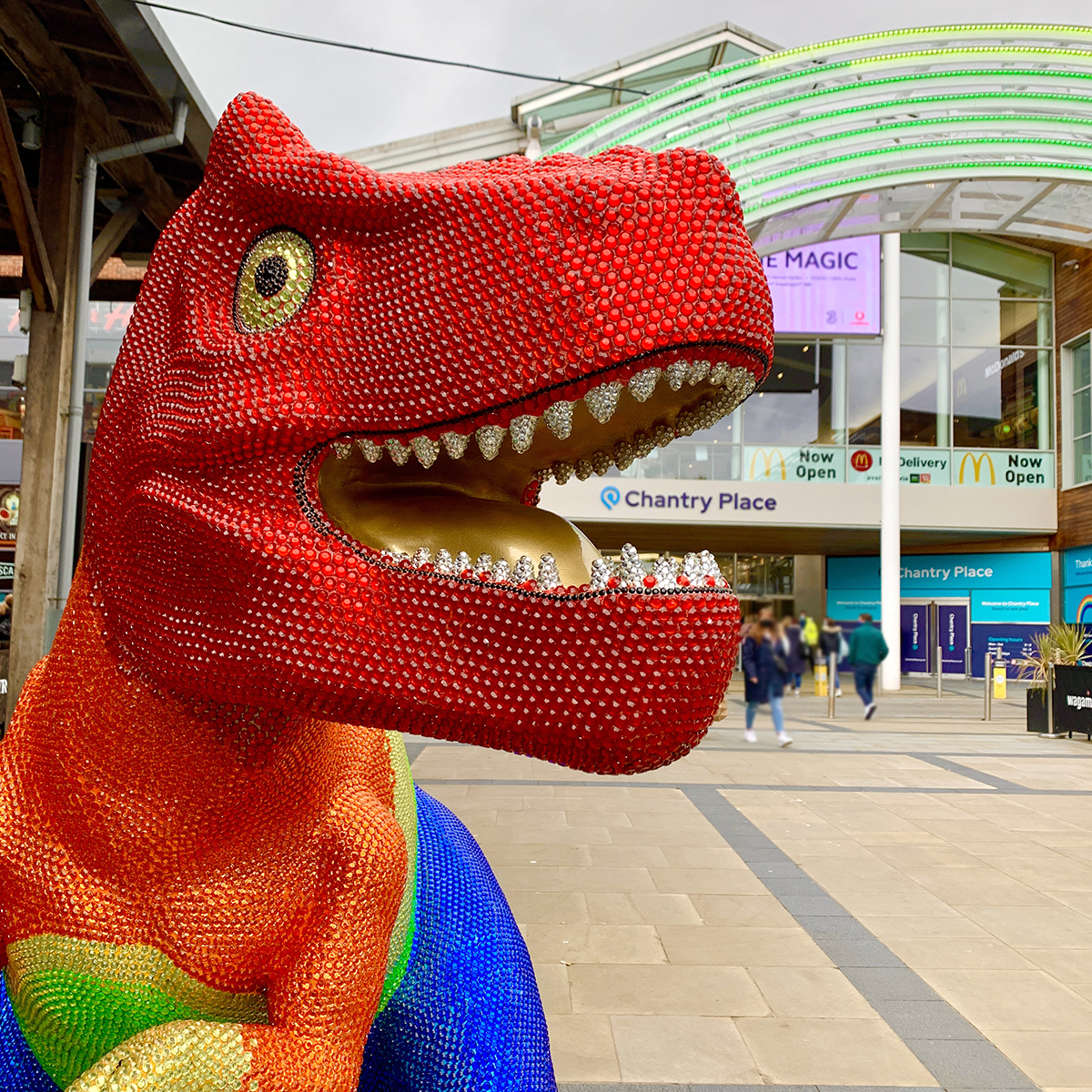 FOUR Helps Break Unmask First T.rex Ahead Of GoGoDiscover Trail