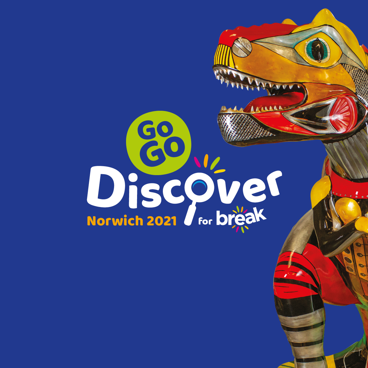 GoGoDiscover FOUR's T.rexciting Work